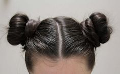 I wear my hair like this so much that my man calls the two buns my ears... no ear today baby?