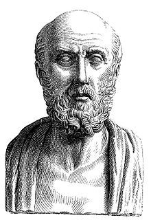 "Hippocrates, c.460–c.370 BC, Greek physician, considered one of the most outstanding figures in the history of medicine. He is sometimes referred to as the ""Father of Medicine"" in recognition of his contributions as the founder of the Hippocratic School of Medicine. This school revolutionized medicine in ancient Greece, establishing it as a discipline distinct from other fields  which it had traditionally been associated (theurgy and philosophy), thus establishing medicine as a profession."