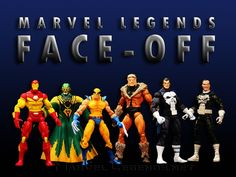 Marvel Legends Face Off Series 2 // Pinned by: Marvelicious Toys - The Marvel Universe Toy & Collectibles Podcast [ m a r v e l i c i o u s t o y s . c o m ]