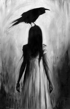 Goth art - david stoupakis present works inspired by mythology in the kindly ones Dark Fantasy, Fantasy Art, Desenhos Halloween, Arte Obscura, Goth Art, Creepy Art, Creepy Paintings, Horror Art, Macabre