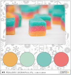 #1 http://scrapuj.blogspot.com/2014/11/wyzwanie-1-kolory.html