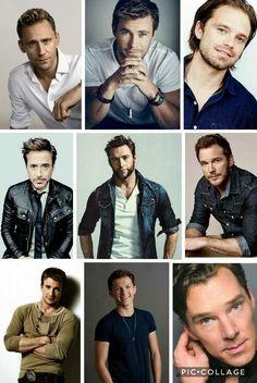 Favorite Marvel Guys