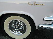 Dodge La Femme: The car designed for women, 1955.