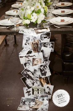 I love this table runner idea!