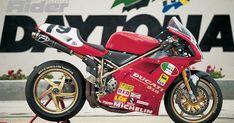 Ducati 998, Ducati Superbike, Motorcycle Design, Sidecar, Kustom, Drag Racing, Motorbikes, Harley Davidson, Honda