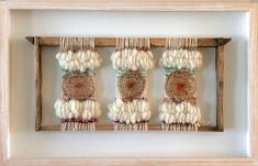 Murales — Marianne Werkmeister Weaving Art, Tapestry Weaving, Loom Weaving, Hand Weaving, Deco Boheme Chic, Dream Catcher Decor, Diy And Crafts, Arts And Crafts, Creative Textiles