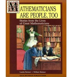 Mathematicians are people too. Charlotte Mason style math book