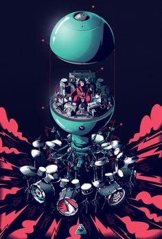 Drumbot on Behance
