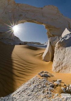 White Desert, Egypt (by Orth Photography). I have never been here, but would love to go. - Explore the World, one Country at a Time. TravelNerdNici.com