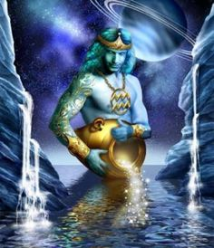 Aquarius Shadow the Water Bearer