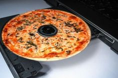 Domino's Pizza in Brazil has created DVDs that smell and look like pizza when exposed to the heat of a DVD player, incorporating the scent and sight of pizza into the DVD rental experience.