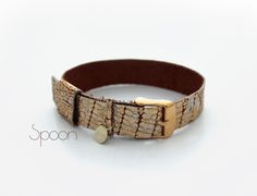 artisti.pl - Spoon leather bracelet