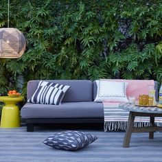 One sofa, endless summers. Our Tillary Sofa includes weighted back cushions that allow you to arrange your seating multiple ways, so you can face the pool by day and the patio by night. Built with sustainably harvested wood, it's a sofa you can feel good about.
