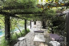 First and foremost, what is a pergola? If you don't know much about outdoor structures, you might actually not understand what pergolas are. Briefly, a pergola is an outdoor frame structure designe… Diy Pergola, Gazebo, Metal Pergola, Pergola Shade, Pergola Ideas, Pergola Roof, French Cottage, French Country House, Country Interior Design