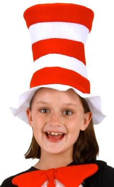 Amazon.com  Dr. Seuss The Cat in the Hat Kids Felt Hat by elope  Toys    Games 0bc45d55723b