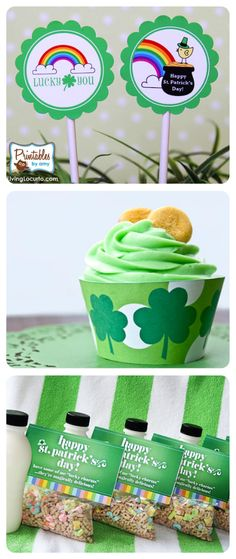64 St. Patrick's Day Printables, Food, Traditions, & Crafts