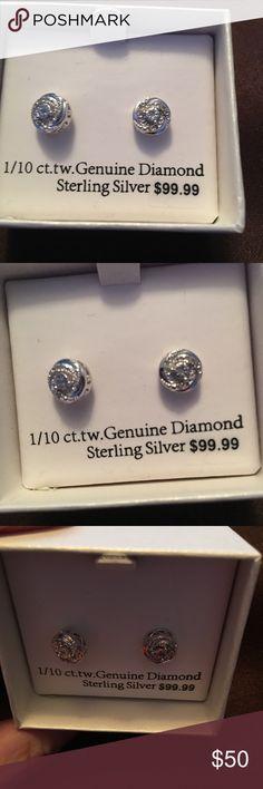 Jewelry Sterling silver earrings! Nice Jewelry