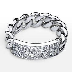 Christian Dior 指輪・リング ★希少!! Christian Dior ホワイトゴールド ダイヤモンド リング