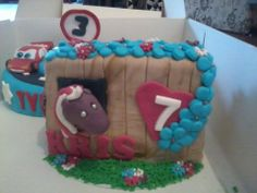 paardenstal taart / horse stable cake