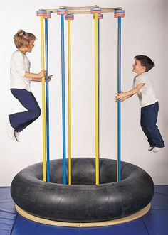 Jump and Play Island --We used to have these growing up.  Loved it!  Maybe I should have my son make me one.