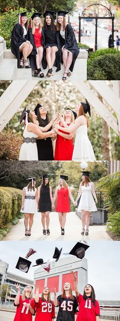 Senior session with your besties!!! :) University of Georgia | Delta Gamma sorority sisters | UGA Senior Graduation Photos | Athens GA Photographer