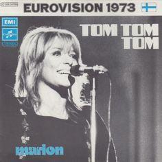 """Tom Tom Tom"". Performed by Marion. Finland @ ESC 1973."