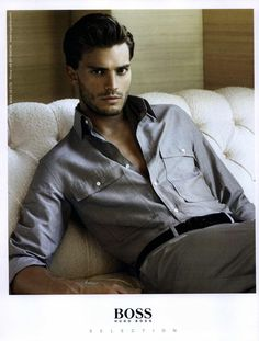 Jamie Dornan for Selection by Hugo Boss Spring/Summer 2008 Campaign