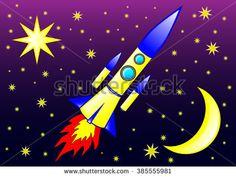Rocket Stock Vectors & Vector Clip Art   Shutterstock