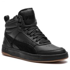 caa3805ed13cc Sportcipő PUMA - Rebound Street V2 L Fur Jr 368197 01 Black/Black/Black -  Sneakers - Félcipő - Női - www.ecipo.hu