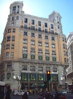 Casa del Libro  Gran Via Madrid  Spain