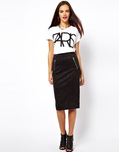 ASOS skirt - love the whole look though