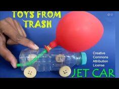 Esperimenti scientifici per bambini - automobiline con motore ad aria - La pappadolce