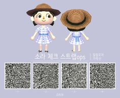 [튀동숲QR코드] Vestido de tirantes a cuadros colores) -DENTRO de Corea JoongAng Daily - Thomas Jones Animal Crossing Qr Codes Clothes, Animal Crossing Game, Egg Shell Uses, Motif Acnl, Code Wallpaper, Ac New Leaf, All About Animals, Sims 4, Things That Bounce