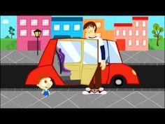 Disney Junior España | Jota Jota quiere aprender seguridad vial: en el coche de papá