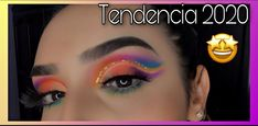 Tendencia en maquillaje 2020 doble cut crease 🤩 The Creator, Halloween Face Makeup, Instagram, Videos, Youtube, Colorful Makeup, Trends, Video Clip, Youtube Movies