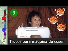 Trucos para la Máquina de Coser 3 [Tutorial] - YouTube Youtube, 1, Singer, Sewing, Tips, Projects, Bandana Bib, Scrappy Quilts, Making Cushion Covers