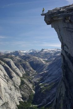 """Everyone looks so beautiful up here.""     Half Dome, Yosemite"