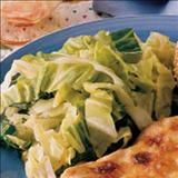 Stir-fried Cabbage cooks quickly so it stays crisp and keeps its bright color.