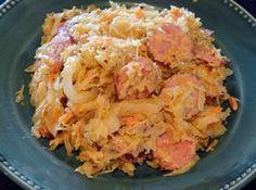 Creamy Kielbasa/Kraut Surprise Recipe