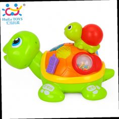 47.99$  Watch here - http://ali7k7.worldwells.pw/go.php?t=32655886767 - Huile Toys Learning & Educational Toy Parent-child Turtle with Music/Light/Sound Control/Sensor Developmental Baby Toys For 6M+ 47.99$