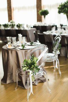 A Seriously Chic Wedding Small Elegant