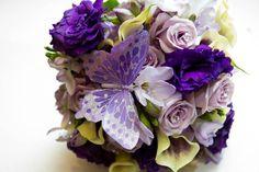 Purple/Butterfly Wedding Flowers  Keywords: #butterflyweddings #jevelweddingplanning Follow Us: www.jevelweddingplanning.com  www.facebook.com/jevelweddingplanning/