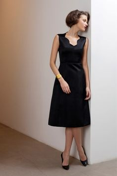 The Perfect Little Black dress for Fall 2013 from Barbara Tfank