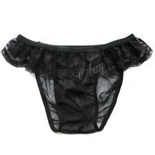 Men/'s Sheer Lace Boxer Briefs Shorts Sissy Pouch Panties Gay Underwear Lingerie