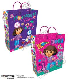 Bolsa Regalo Dora la Exploradora http://envoltura.papelesprimavera.com/product/bolsa-regalo-personajes-dora-la-exploradora-3/