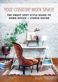 my scandinavian home: Beautiful inspiration from the book 'Your Creative Work Space' by Desha Peacock.