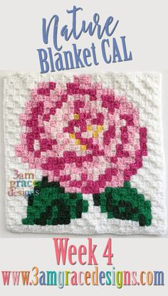 Welcome to Week 4 of our Nature Blanket C2C Crochet-along! **A special thank you to Michaelene Nelson for testing the week 4 square!** The official hashtag for this CAL is: #3amgracedesignsNATURECAL.Please share your progress & squares with us on Instagram, Facebook, and social media! Click HERE to download the Flower 4 graph. Click HERE to …