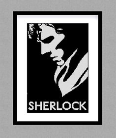 Buy 2 get 1 free. Sherlock  cross stitch pattern. от GlazovPattern