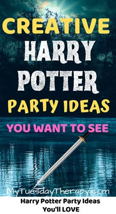Unique Harry Potter Party Ideas for Teens and Kids. A fun birthday party  theme for boys and girls. Harry Potter party for adults. Party games,  party food. All kinds of cool ideas for hosting a Harry Potter party for  Halloween, Christmas or Birthday. Triwizard tournament, yule ball and  other amazing ideas.