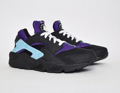 d83a2172 #Nike Air Huarache Wmns Black Purple #sneakers Reebok, Солнцезащитные Очки  Ray Ban,